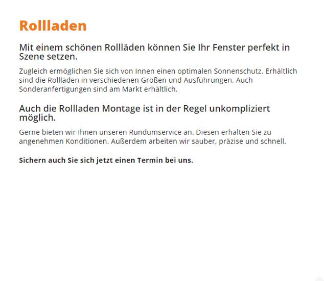 Rollladen in  Lehrensteinsfeld